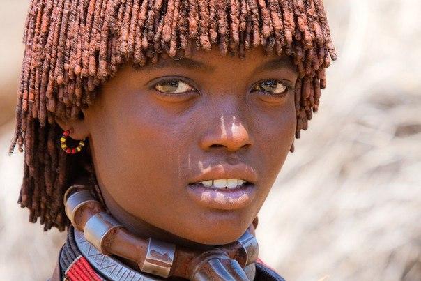 Девушка племени Хамер, Эфиопия