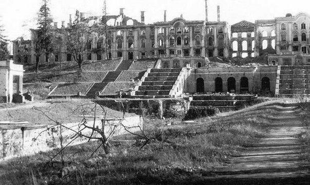 Петергоф, 1943 г.